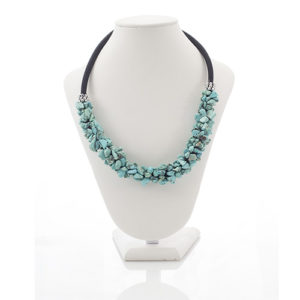 COLLIER CLEOPATRE TURQUOISE